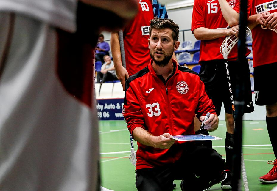 Truppen mod Copenhagen Floorball Club