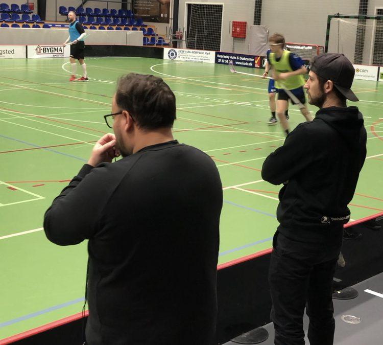 Truppen mod Vanløse Floorball